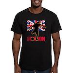 Soccer 2012 London Men's Fitted T-Shirt (dark)
