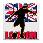Soccer 2012 London Tile Coaster