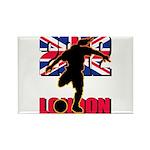 Soccer 2012 London Rectangle Magnet