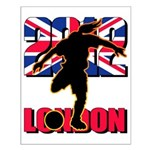 Soccer 2012 London Small Poster
