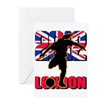Soccer 2012 London Greeting Cards (Pk of 10)