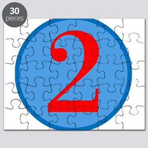 Number Two Birthday Puzzle