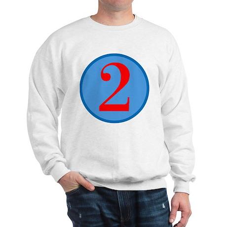Number Two Birthday Sweatshirt