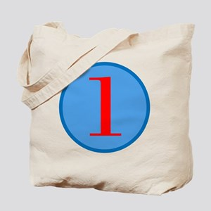 Number One Birthday Tote Bag
