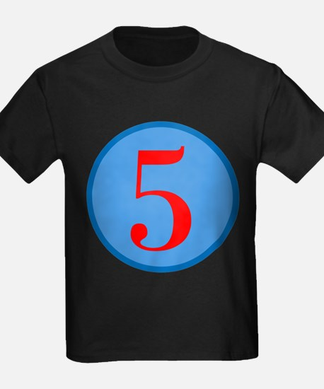 Number Five Birthday T