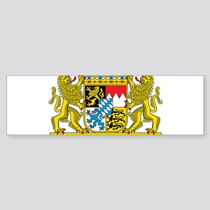 Bavaria Coat Of Arms Bumper Sticker