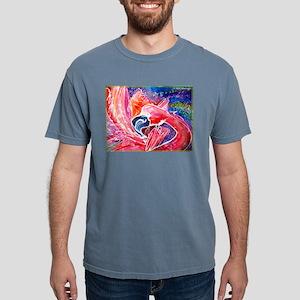 Flamingo, bird, art! Mens Comfort Colors Shirt