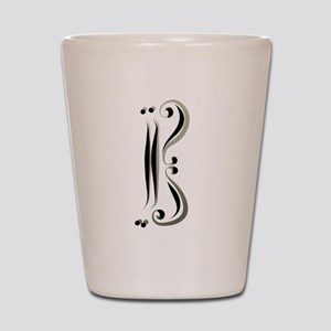 Alto Clef br Caligracat Shot Glass