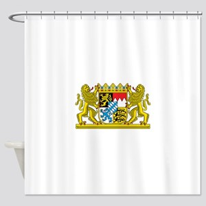 Bavaria Coat Of Arms Shower Curtain