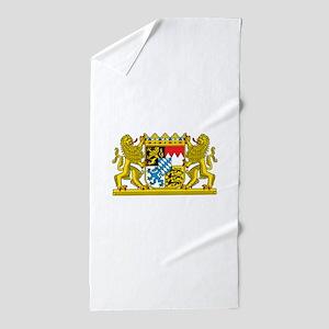 Bavaria Coat Of Arms Beach Towel