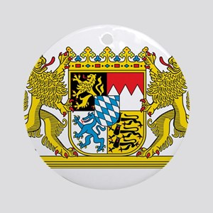 Bavaria Coat Of Arms Round Ornament