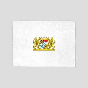 Bavaria Coat Of Arms 5'x7'Area Rug