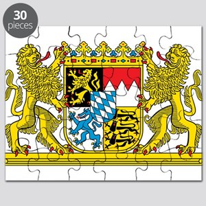 Bavaria Coat Of Arms Puzzle