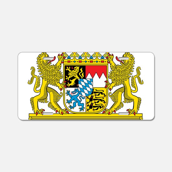 Bavaria Coat Of Arms Aluminum License Plate