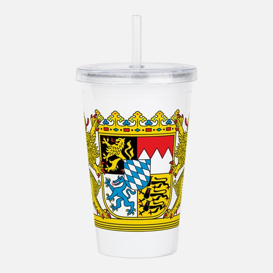 Bavaria Coat Of Arms Acrylic Double-wall Tumbler