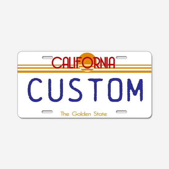 California - Golden State Custom License Plate