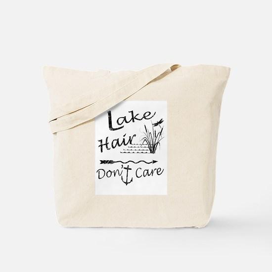 Unique Lake girl Tote Bag