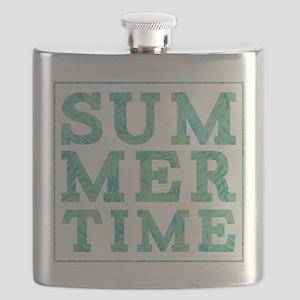 Summertime Print Flask