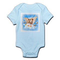 Italian Greyhound Lil Angel Infant Creeper