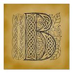 Celtic Letter B Square Car Magnet 3