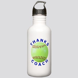 Softball Coach Thank You Unique Gifts Stainless Wa