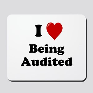 Cheeky Auditor Gift - Auditing Quote Mousepad