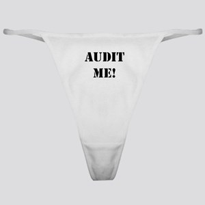 Auditor Gift - Audit Me! - Now! Cheeky Thong