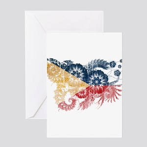 Philippines Flag Greeting Card