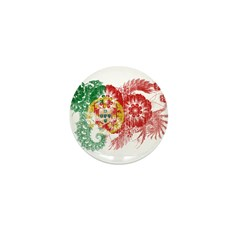Portugal Flag Mini Button