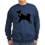 Alaskan Malamute Breast Cancer Support Sweatshirt