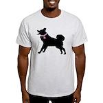 Saint Bernard Breast Cancer Support Light T-Shirt
