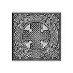 Celtic Cross Square Sticker 3