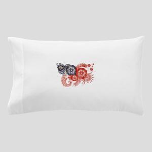 Samoa Flag Pillow Case