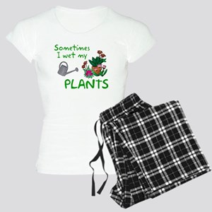 I Wet My Plants Women's Light Pajamas