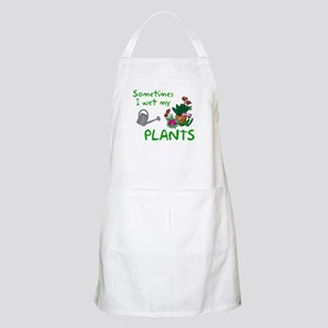 I Wet My Plants Apron