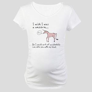 Unicorn Accident Maternity T-Shirt