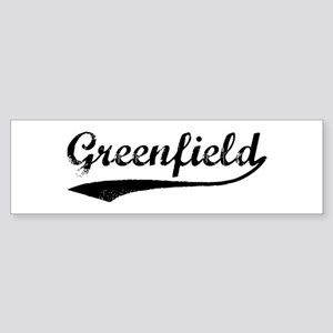 Greenfield - Vintage Bumper Sticker