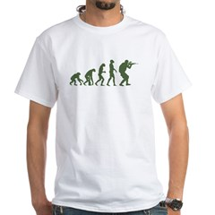 EVOLUTION OD_Green White T-Shirt