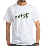 EVOLUTION OD_Green.png White T-Shirt
