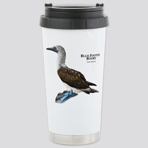 Blue-Footed Booby Stainless Steel Travel Mug