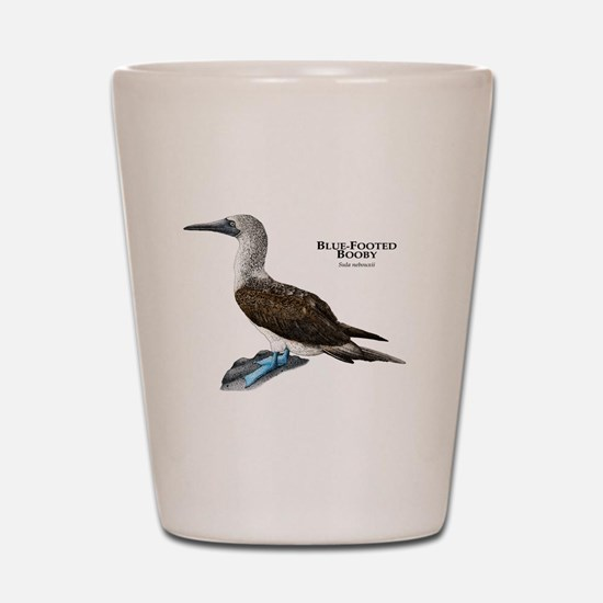 Blue-Footed Booby Shot Glass