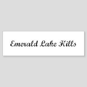 Emerald Lake Hills - Vintage Bumper Sticker