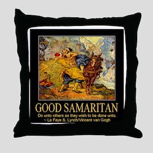 Good Samaritan Throw Pillow