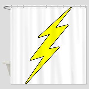 ZDBolt1.png Shower Curtain