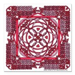 Celtic Valentine Square Car Magnet 3