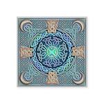 Celtic Eye of the World Square Sticker 3