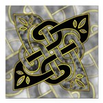 Celtic Dark Sigil Square Car Magnet 3