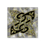 Celtic Dark Sigil Square Sticker 3