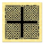 Celtic Square Cross Square Car Magnet 3