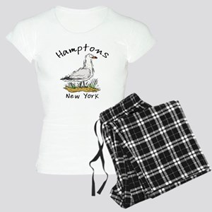 Hamptons NY Seagull Women's Light Pajamas